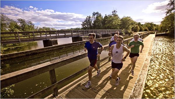 trčanje u grupi